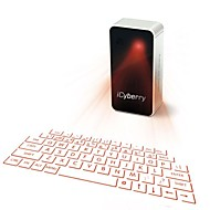 projeção a laser icyberry teclado virtual para o iPhone, smartphone, laptop ou tablet