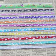 9 цвет счастливая звезда оригами материалы (45 страниц)