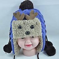 módní krásné teplé nové karikatury parohy dětské klků klapky na uši čepice