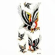 glede impermeable tatuaje temporal molde muestra pegatina tatuajes para el arte corporal (18.5cm * 8.5cm)