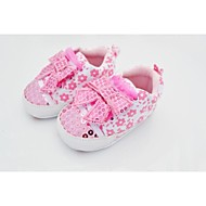 Girl's Flats Spring / Fall / Winter Party & Evening Flat Heel Bowknot Pink