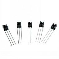 DIY 3-Pin Infrared IR Receiver - Black (5PCS)