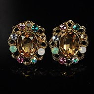 Women's Diamante Crystal Earrings
