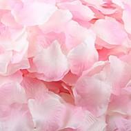 satt av 100 petals roseblader bord dekorasjon (assortert farge)