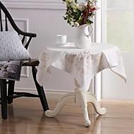 5 Mélange Lin/Coton Carré Nappes de table / Serviettes