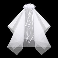 Women's/Flower Girl's Satin/Lace Headpiece - Wedding/Special Occasion/Outdoor Hair Combs/Wreaths