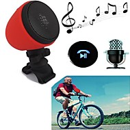 Portable Bicycle Waterproof IPX 4 V3.0+EDR Stereo Wireless Bluetooth Speaker/Microphone