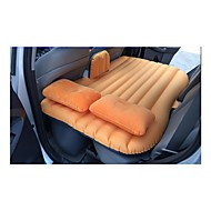 LEBOSH™Mobile Bed Inflatable Bed in the Back Inflatable Mattress for Self-driving Tour Thickening of Oxford Cloth Orange