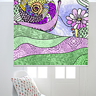 Artistic Cartoon Colorful Style Snail Roller Shade