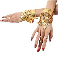 Dance Accessories Jewelry Women's Sequined / Metal Coins / Tassel(s) Christmas / Halloween 25cm