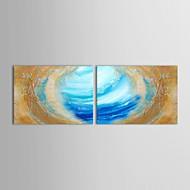 iarts®hand gemalte Ölgemälde-abstrakte Vortex Malereikunst mit gestreckten Rahmen Satz von 2