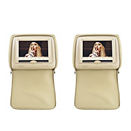 "7"" Headrest Slot-In Car DVD Player with FM Transmitter/IR/USB/SD and Zipper Cover(1Pair)"