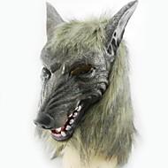 Halloween-masker Grøn sølv Plastik 1 Stk.
