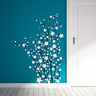 Wall Stickers Wall Decals,  Modern The flower branches PVC Wall Stickers