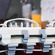 dobbeltsidet klæbende plast tråd opkøber spoleapparatet (3 størrelser 10 stk)