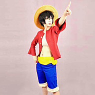 Costume Cosplay di Rubber, da One Piece (cintura inclusa)