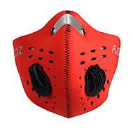 FJQXZ Kolo/Cyklistika Face Mask Unisex Rychleschnoucí / Odolné vůči prachu / Větruvzdorné Síťování Červená / Černá / Modrá / Oranžová