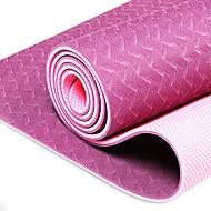 Tpe Yoga Mat Fitness Mat Non-Slip Yoga Mat Widened Thickened Three Piece Set