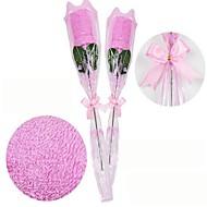romance toalha pode ser usado como presente como rosas (cor aleatória)