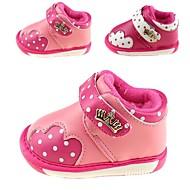 Rosa / Rød - Baby Sko - Udendørs / Hverdag - Kunstlæder - Støvler