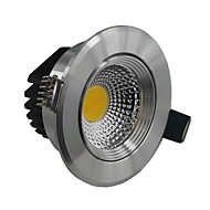 5 W 1 COB 500-550 LM Warm White / Cool White Recessed Retrofit Dimmable Ceiling Lights AC 110-130 V