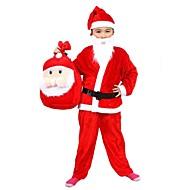 6-9 Jahre alter Junge Weihnachten montiert