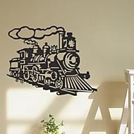 samolepky na zeď Lepicí obrazy na stěnu, parní parní stroj vintage vlak cituje pvc samolepky na zeď