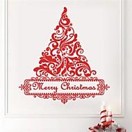 jiubai® juletræ væg sticker wallstickers