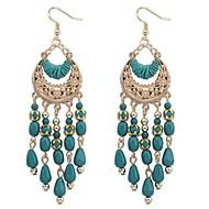 European Style Bohemian Tassel Crescent Earrings(More Colors)