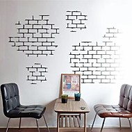 Wall Stickers Wall Decals,  Modern Brick brick texture characteristics PVC Wall Stickers