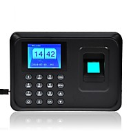 """n-a6 2.4 """"tempo de impressão digital gravador de folha de pagamento relógio comparecimento do empregado TFT-nos"""