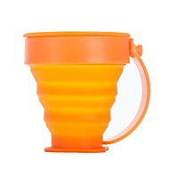 Plastique / Silicone tasse orange Unique outdoor