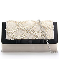 Imitation Pearl/Day Clutches/Shoulder Bags with Imitation Pearl