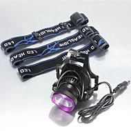Iluminação Lanternas de Cabeça LED 2500 Lumens 3 Modo Cree XM-L U2 18650.0 Prova-de-Água / RecarregávelCampismo / Escursão /