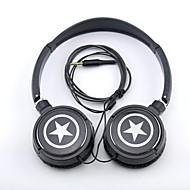 SPC06 Stars Logo Stereo Headphone 3.5mm Jack over Ear for MP3/Phones/PC