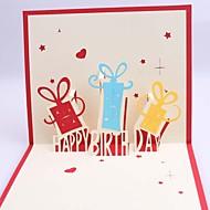 Seitlich gefaltet Hochzeits-Einladungen1 Stück / Set Kartonpapier