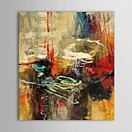 Hand-Painted Abstract Vertical,Classic Traditional One Panel Oil Painting For Home Decoration