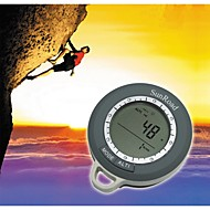 Multifunctional Mini Digital Altimeter Climb Rate Barometer Thermometer Weather Forecast Time Compass