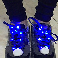 Fabric LED Light Colorful Shoelaces 1 Pair