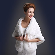 Fur Wraps / Wedding  Wraps Shawls Faux Fur Wedding / Party/Evening
