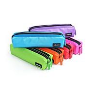 uslon® multicolor novo design boa qualidade caso caneta duplo zíper saco do lápis