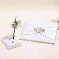 elegante samling sett (sett med to, penneholder og gjesteboka er inkludert)