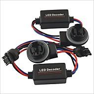 Car 3157 LED Light Warning Error Canceller Bypass Load Wiring Resistor Decoder--2PCS