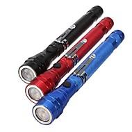 תאורה פנס LED / פנסי יד LED 300 Lumens 1 מצב - LR44 אחיזה נגד החלקה שימוש יומיומי / טיולים / עבודה / רב שימושי סגסוגת אלומניום