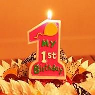 premières bougies d'anniversaire pour enfants de parti