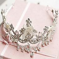 Women's Satin/Rhinestone/Alloy Headpiece - Wedding Tiaras/Headbands