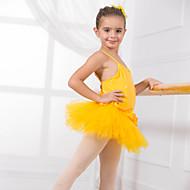 Kids' Dancewear Leotards Children's Training Cotton Appliques / Bow(s) Sleeveless CM:110:50,120:53,130:56,140:59,150:61