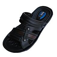 Boy's Slippers & Flip-Flops Spring / Summer Slide / Comfort Rubber Flat Heel Slip-on Black