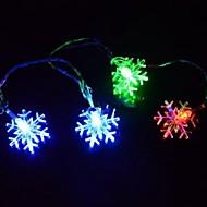 Christmas Snowflake 4.5M  28 LED Colorful  String Lights