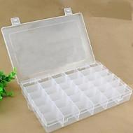 קופסאות אחסון פלסטיק עםמאפיין הוא עם מכסה , ל תכשיטים